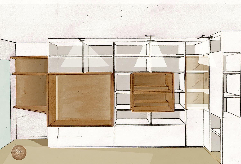 meuble bibliothque pour bd great tagre range cddvd hauteur mtres everett la redoute interieurs. Black Bedroom Furniture Sets. Home Design Ideas