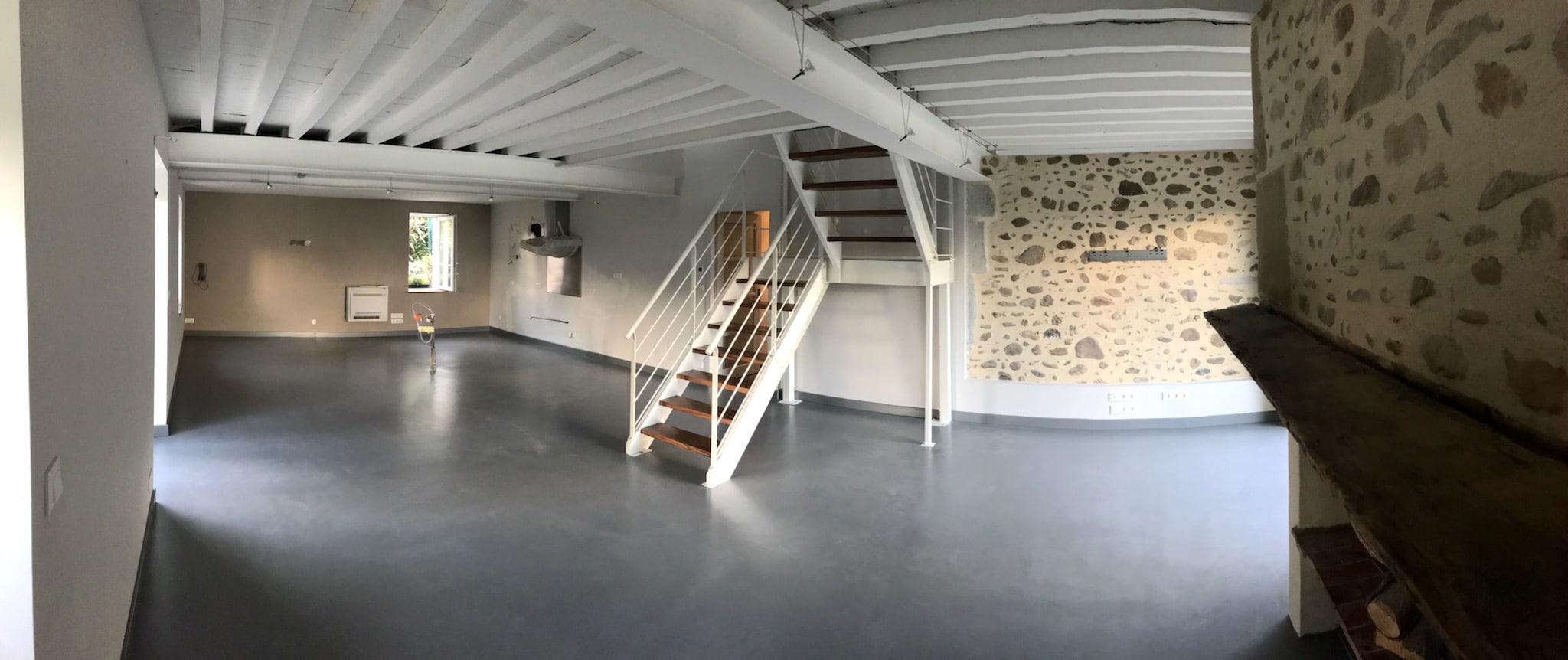 le b ton cir en d coration d int rieur d 39 co pau d coration d 39 int rieur. Black Bedroom Furniture Sets. Home Design Ideas
