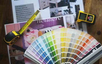 La peinture en décoration, conseils et astuces.