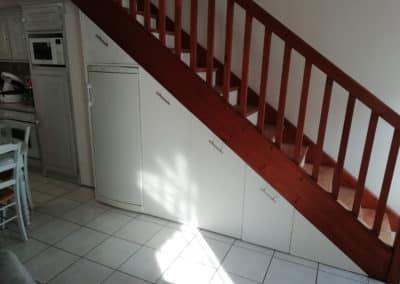 Aménagement sous escalier, optimiser l'espace d'un appartement