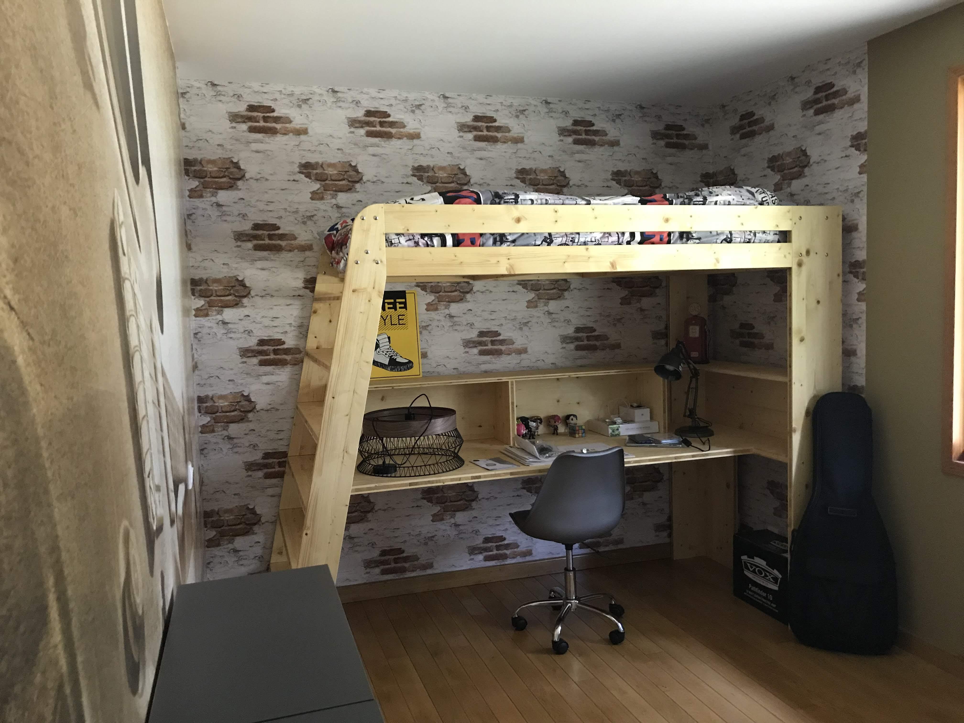 Aménagement Mezzanine Petit Espace aménagement d'une chambre d'adolescent - d'éco pau
